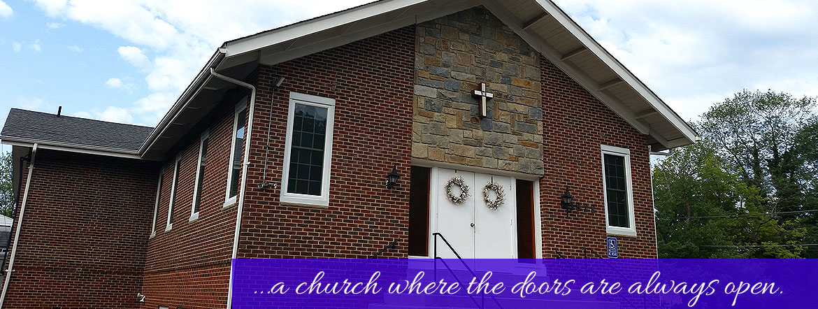 ...a church where the doors are always open.